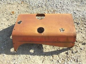 Allis Chalmers Wd Wd45 45 Tractor Power Steering Engine Motor Hood Cover Ac