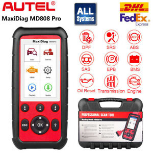 Autel Maxidiag Md808 Pro Obd2 Diagnostic Tool Abs Airbag Code Reader Scanner