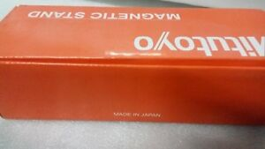 Japan Made Mitutoyo Magnetic Base Heavy Duty Boxed