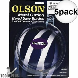 Olson Bm82164 Tpi Metal Cutting Band Saw Blade 64 1 2 X 1 2 X 10 14 5x New