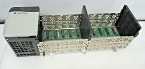 Allen Bradley Controllogix 10 Slot Chassis 1756 a10 b With 1756 pa75 a