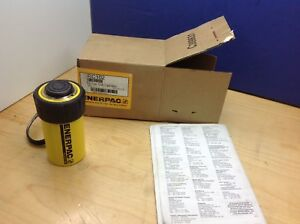 Enerpac Rc 102 New 10 Ton Single Acting Hydraulic Cylinder 2 Stroke