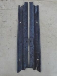 1928 1929 Model A Ford Windshield Garnish Moldings Original Pair Coupe 2dr Sedan
