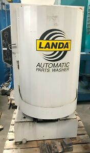 28 X 40 Landa Parts Washer Cleaner Cabinet Lc 2840a Front Loading Heated