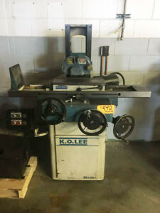 6 X 18 K o Lee 618h Automatic Surface Grinder 1hp Hyd Feed 6x18 Chuck
