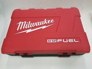 Milwaukee M12 2416 21 Xc 5 8 Rotary Hammer Drill Case Only