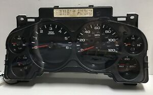 2008 Chevy Silverado 1500 Pickup Speedometer Instrument Cluster Gauges