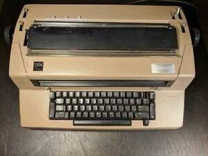Vintage Ibm Correcting Selectric Iii Typewriter For Parts Repair