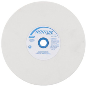 Norton Grinding Wheel 8in X 1in White Aluminum Oxide 150 Grit
