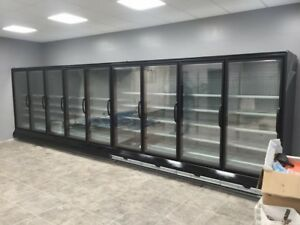 30 Glass Door Freezer Cooler Case Run Hussmann Innovators Remanufacturer