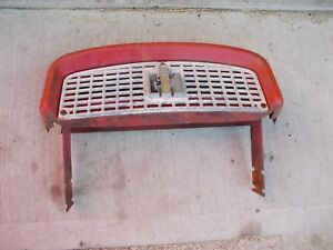 Farmall 340 Rc Tractor Ih Ihc Nice Front Nose Cone Top Grill Bonnet
