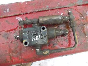 Ihc International Cub 154 Low Boy Ih Tractor Hydraulic Control Valve Assembly