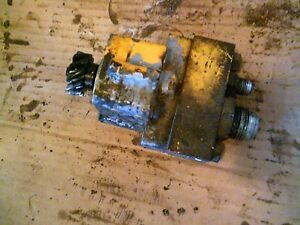 International Cub 154 Low Lo Boy Tractor Good Working Ih Hydraulic Pump