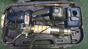 Lincoln 1800 Power Luber Grease Gun 18volt In Case With Battery Charger