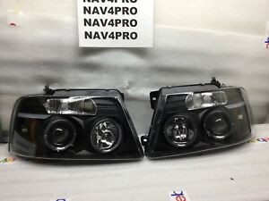 2004 2005 2006 2007 2008 Ford F 150 F150 Projector Led Drl Headlight Pair h292