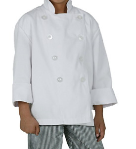 Chef Works Kid s Chef Coat White Small