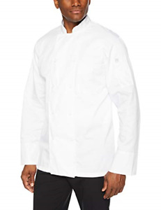 Chef Works Men s Calgary Cool Vent Chef Coat White Small