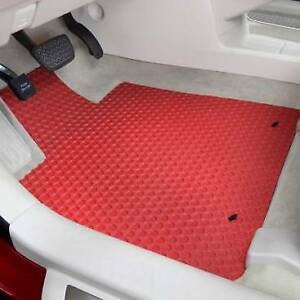 Kenworth T680 Rubber All Weather Floor Mats 2pc Fits 2013 2020 Pick Color
