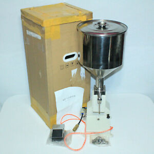 New Complete Sgy A03 Stainless Steel Manual Cream Paste Liquid Filling Machine