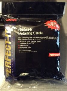 3m Perfect It Auto Detailing Cloth 06016 Cleaning Polishing Towel 6 Per Pack