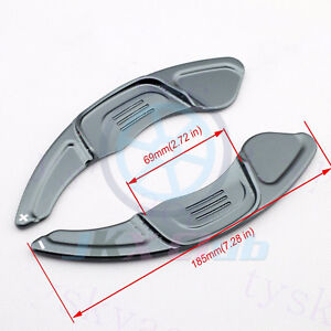 For Golf7 R Gti R line Polo Scirocco 2x J Gear Steering Wheel Shift Paddle Lever