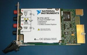 Ni Pxi 4072 6 digit Dmm Lcr 1 8ms s Digitizer National Instruments tested