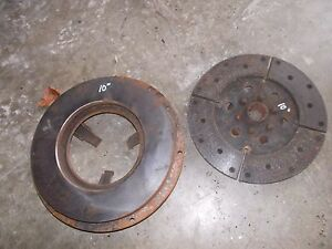 Farmall Ac Jd Ford Mf Coop Tractor 10 1 2 Engine Motor Clutch Pressure Plate