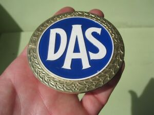 Das Badge Oldtimer Insurence Safety Blue Vw Beetle Porsche 356 911 Mercedes Benz
