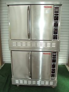 Market Forge Mfcv 2 Gas Double Bakery Commercial Oven Bakery Pizza Blodgett
