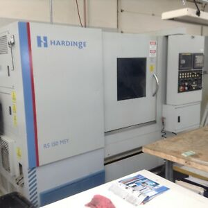 2007 Hardinge Rs 150msy Bar Feeder Sub Spindle Y Axis Live Milling Parts Ca