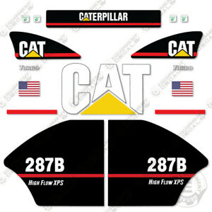 Caterpillar 287b High Flow Xps Decal Kit Equipment Decals Older Style 287 b
