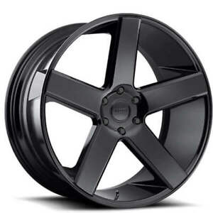 4pcs 26 Dub Wheels Baller S216 Gloss Black Rims Fs