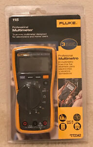 Nip Fluke 115 True Rms Multimeter New In The Package