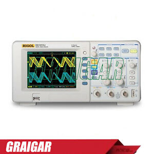 New Rigol Ds1072u Portable Digital Storage Oscilloscope 70mhz 2 Channels