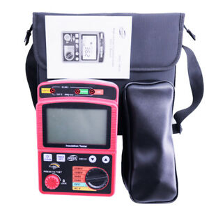 Gm3123 5000v High Voltage Insulation Resistance Tester Gowe Insulation Tester