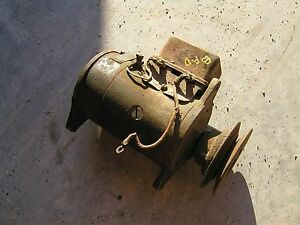 Farmall H M Ih Tractor Ihc Generator With Pulley