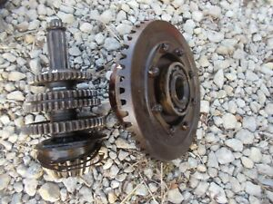 Farmall H Early Sh Tractor Ih Transmission Top Drive Gears Shaft Bearing Pinion