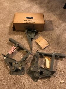 1969 1970 Nos Ford Mustang Shelby Boss Mach 1 428cj Hood Latch Hinges