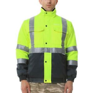 Ororo High Visibility Construction Safety Heated Jacket Men s M