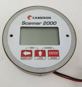 Cameron Scanner 2000 Digital Flow Meter