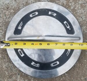 1960 S Ford Dog Dish Poverty Hubcap Stainless Steel 9 1 2