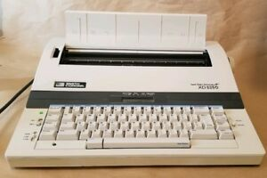 Smith Corona Xd 5250 Spell right Dictionary Electronic Typewriter Tested