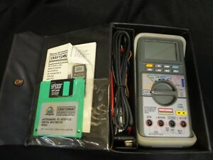 Craftsman Digital Multimeter Rs 232c Modedl 82325 Computer Interfrence