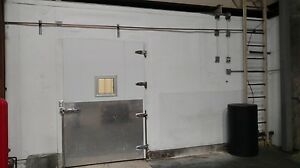 10 w X 14 d X 10 h Walk in Freezer