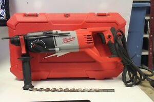 Milwaukee 5262 21 1in Sds D handle Rotary Hammer In Hard Case W 1 Bit