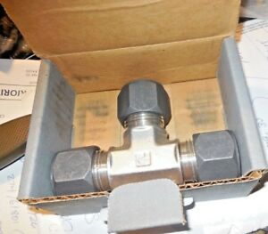 Parker 12 Jbu ss 316 Stainless Steel Compression Union Tee 3 4 Tub