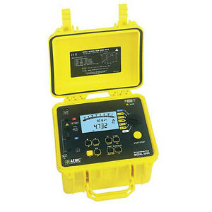 Aemc 5060 Megohmmeter digital Analog Bargraph Backlight Alarm Timer