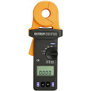 Extech 382357 Clamp on Ground Resistance Tester