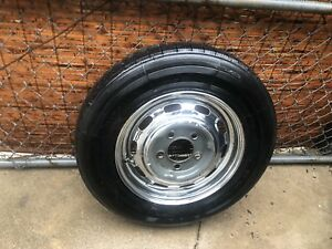 Porsche 356 C Sc Original Steel Wheel 4 1 2 X15 Dated 866