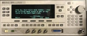 Hp 83620a Synthesized Sweep Signal Generator 10mhz To 20ghz Opt 001